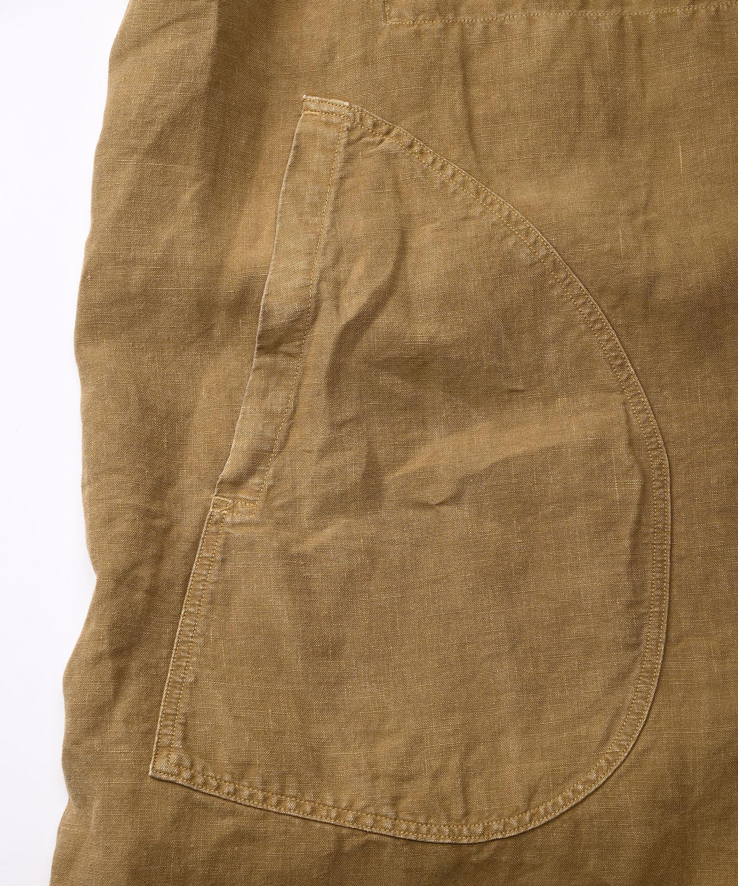Linen Post Dyed 908 Coat (0421)-7