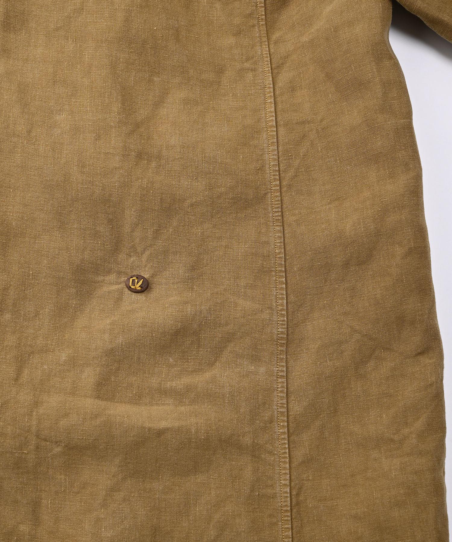 Linen Post Dyed 908 Coat (0421)-8