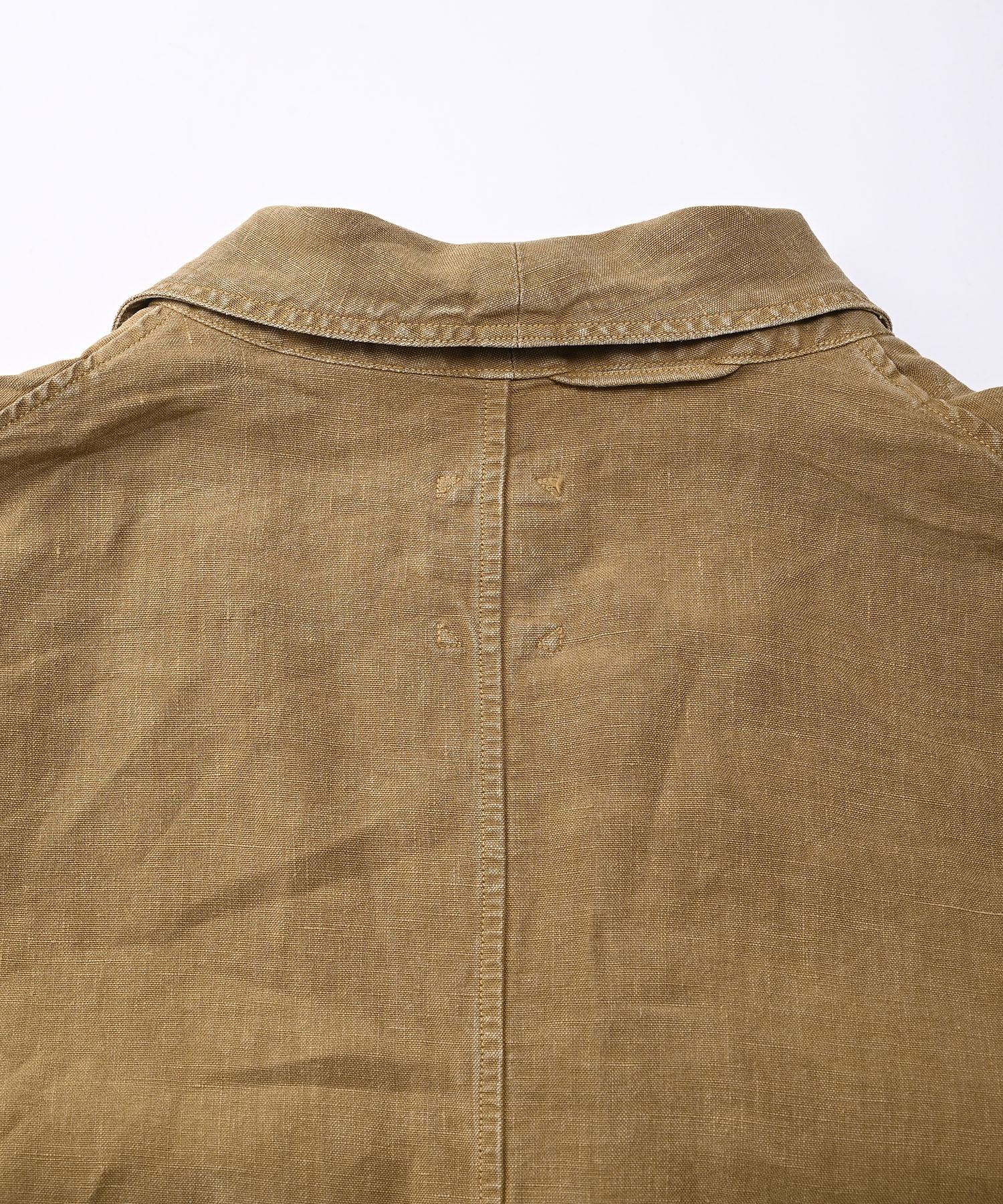 Linen Post Dyed 908 Coat (0421)-9