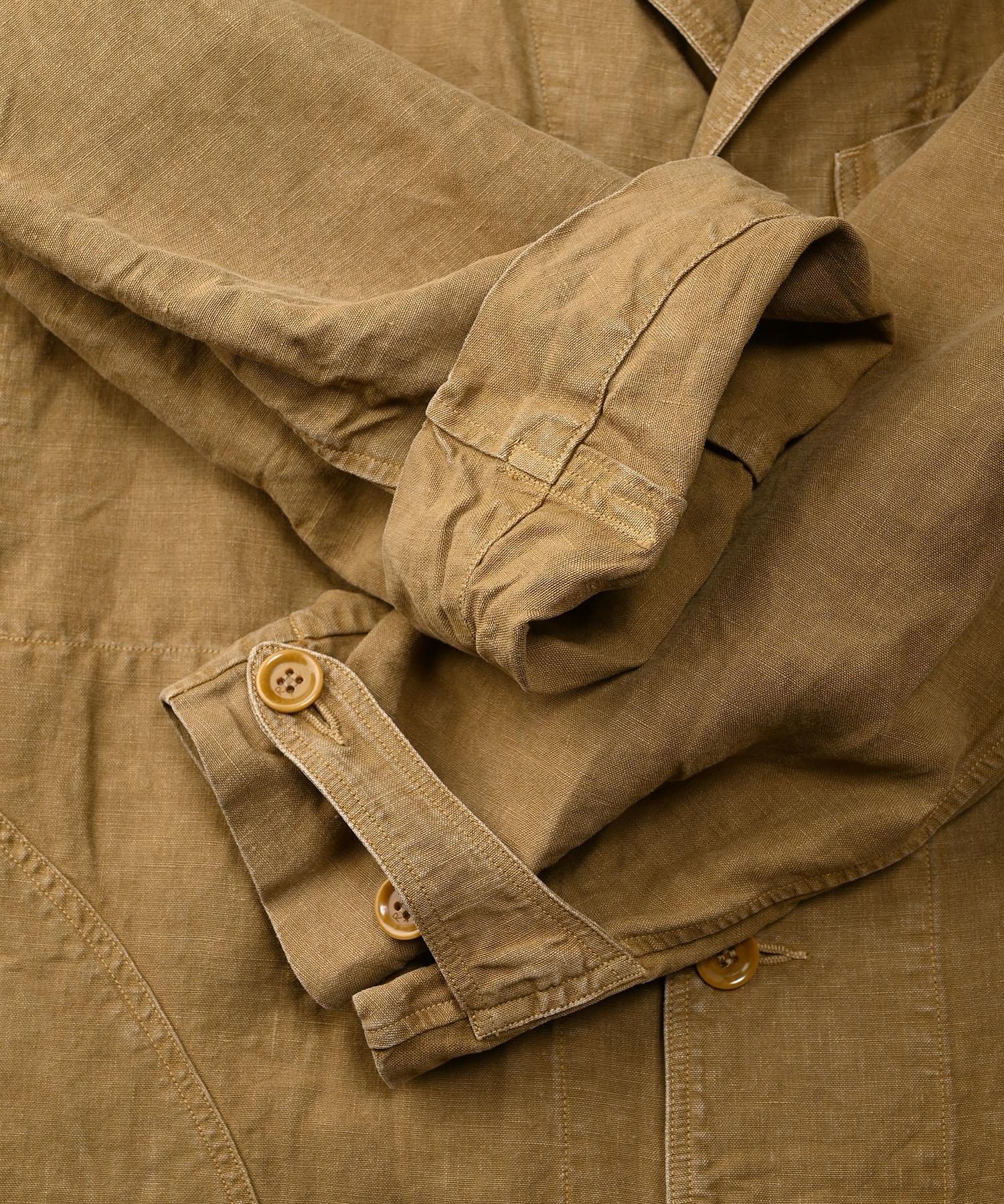 Linen Post Dyed 908 Coat (0421)-10