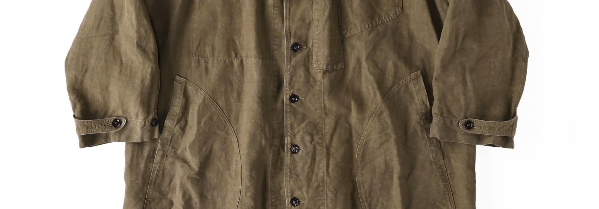 Linen Post Dyed 908 Coat (0421)