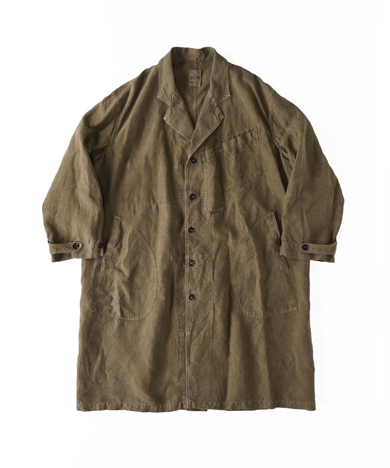 Linen Post Dyed 908 Coat (0421)-1