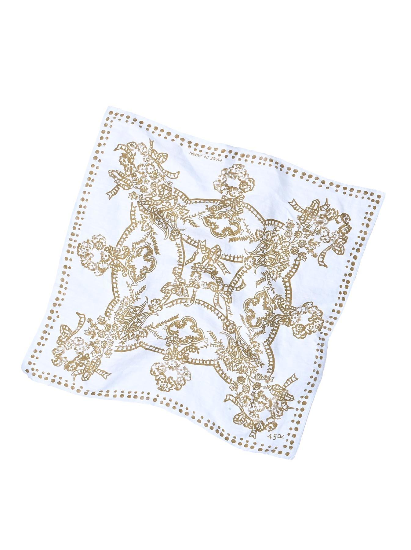 Majotae Selvedge Bouquet Bandana (0421)-3