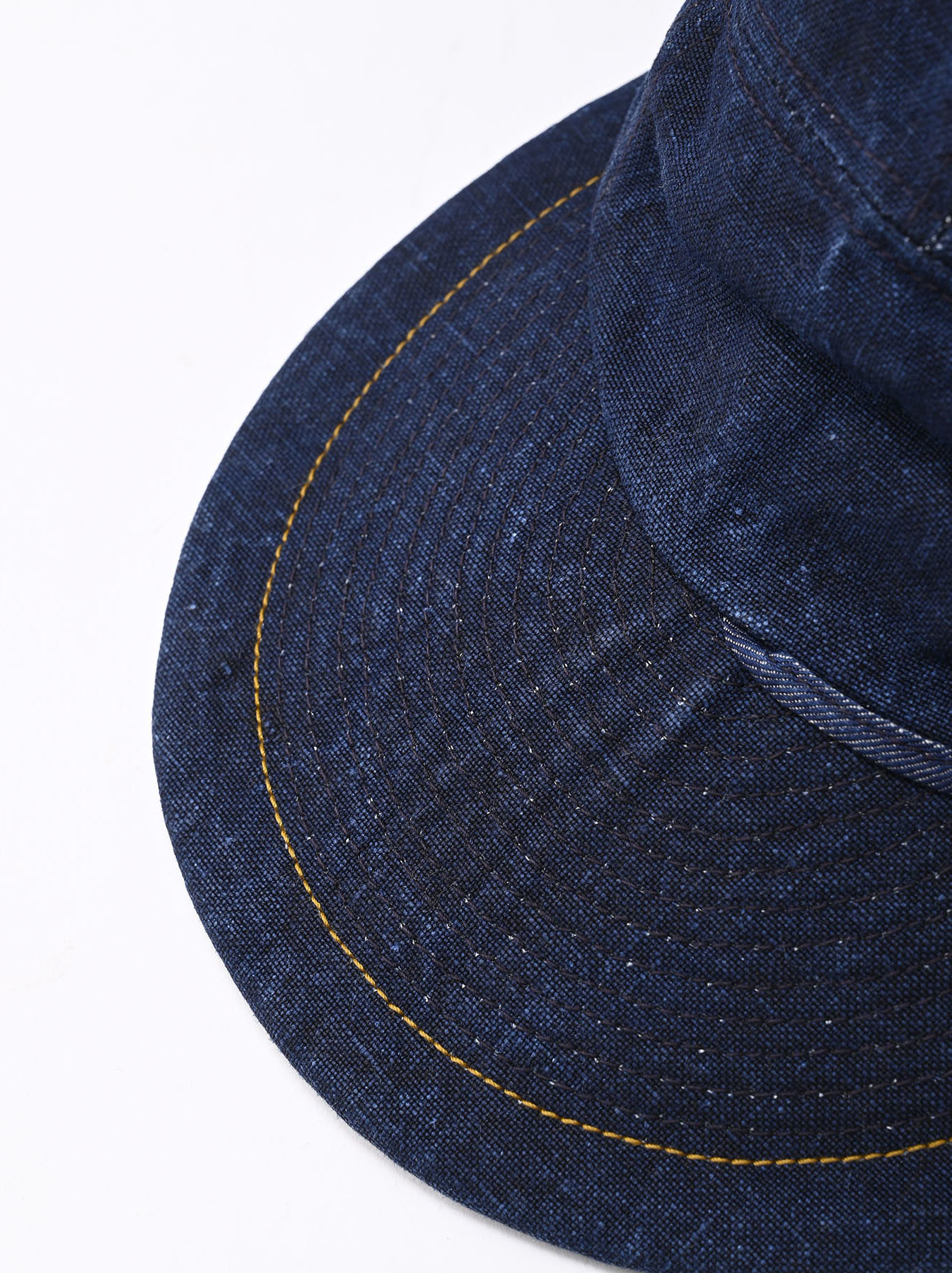 Indigo Linen Duck Cap (0421)-3