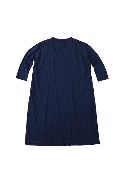 Indigo Zimbabwe Cotton Umahiko Dress (0421)
