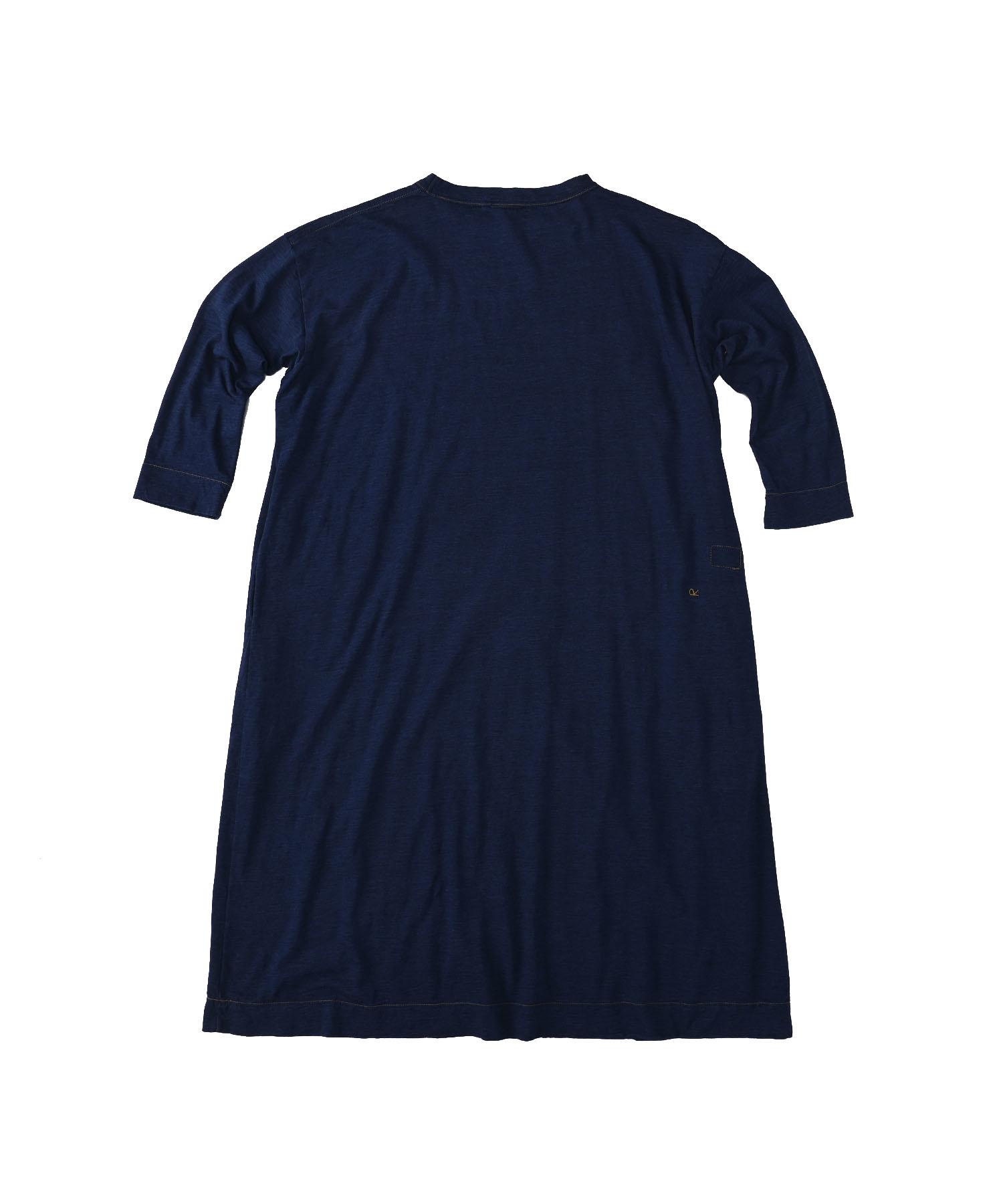 Indigo Zimbabwe Cotton Umahiko Dress (0421)-5