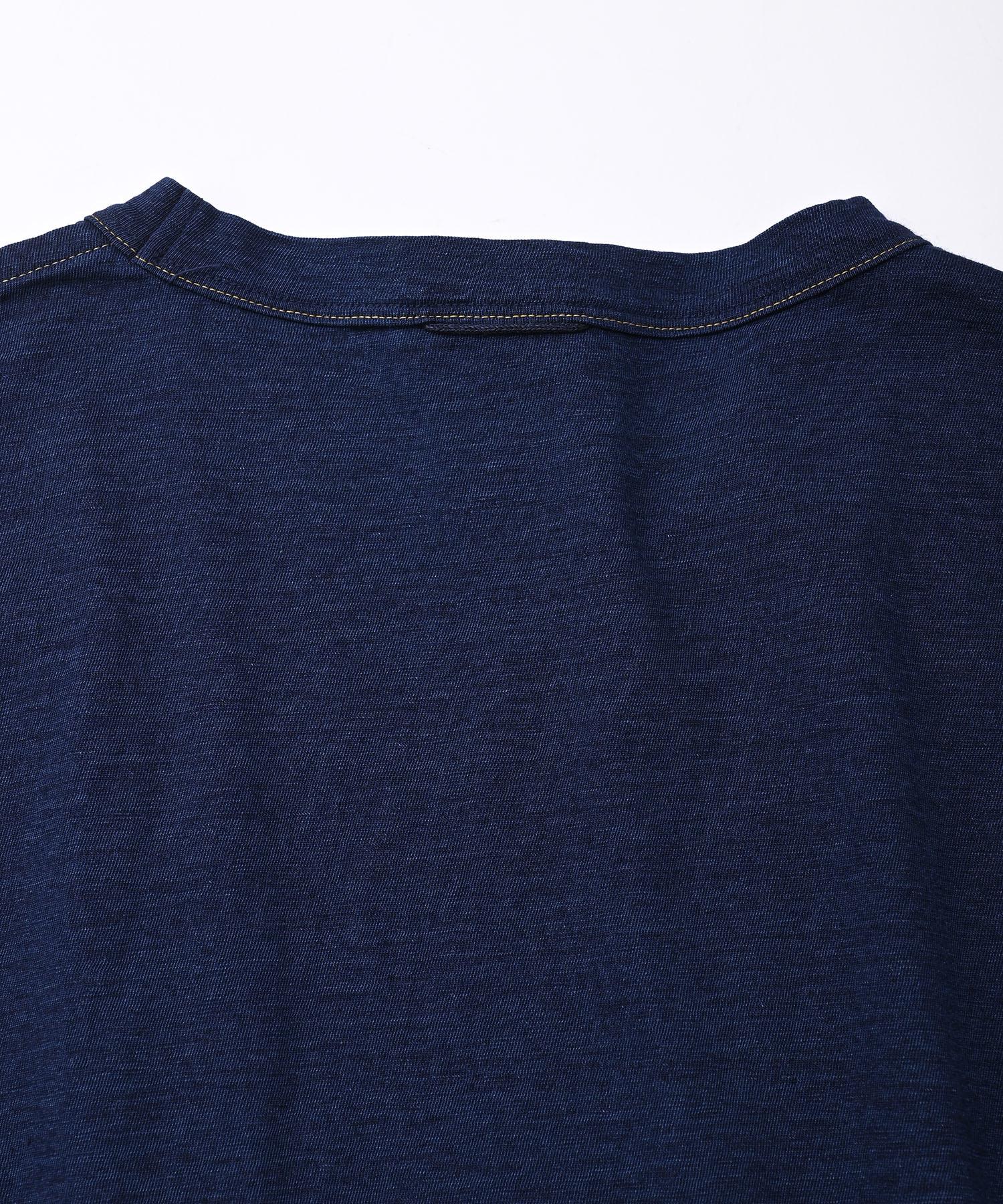 Indigo Zimbabwe Cotton Umahiko Dress (0421)-6