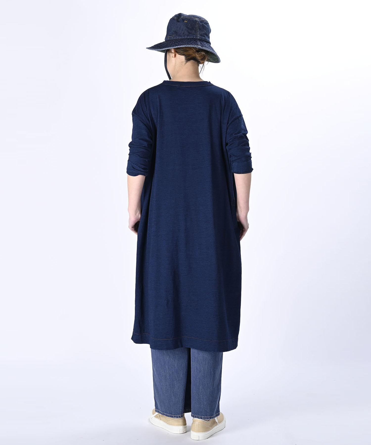Indigo Zimbabwe Cotton Umahiko Dress (0421)-4