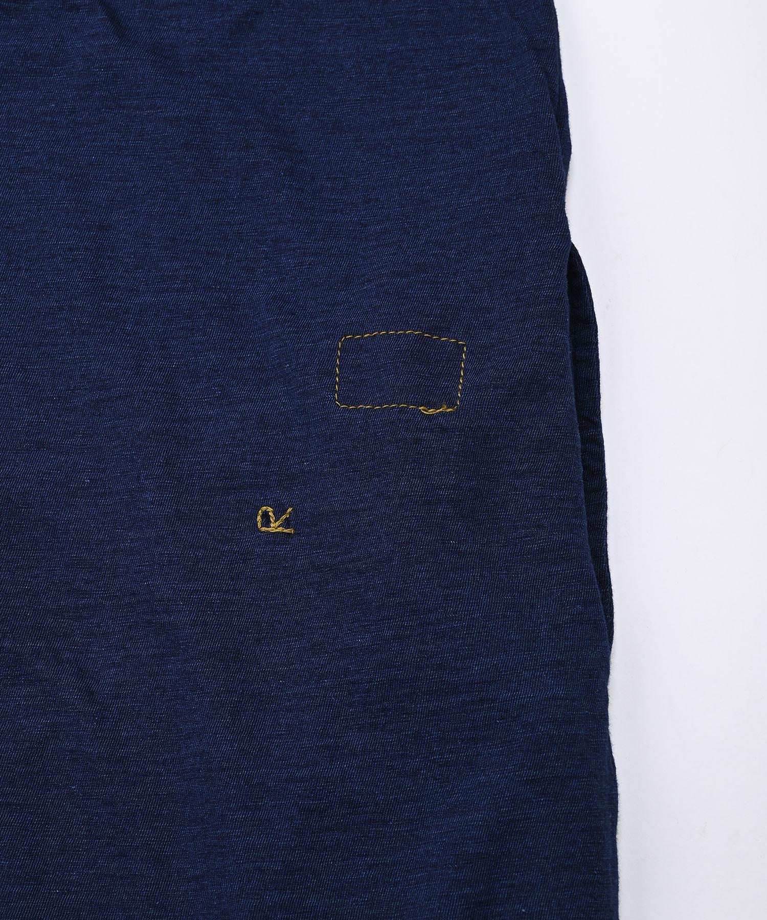 Indigo Zimbabwe Cotton Umahiko Dress (0421)-8