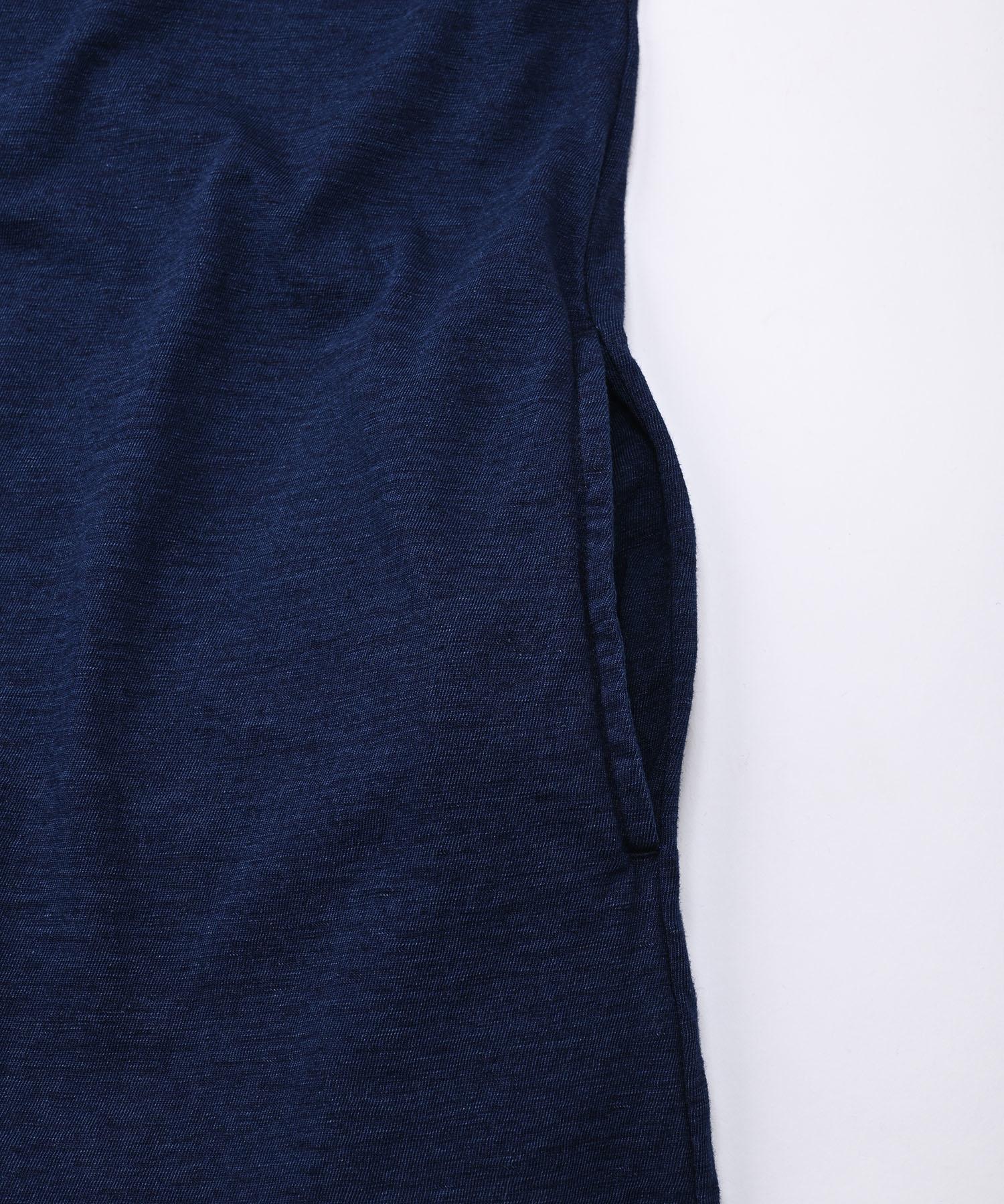 Indigo Zimbabwe Cotton Umahiko Dress (0421)-12