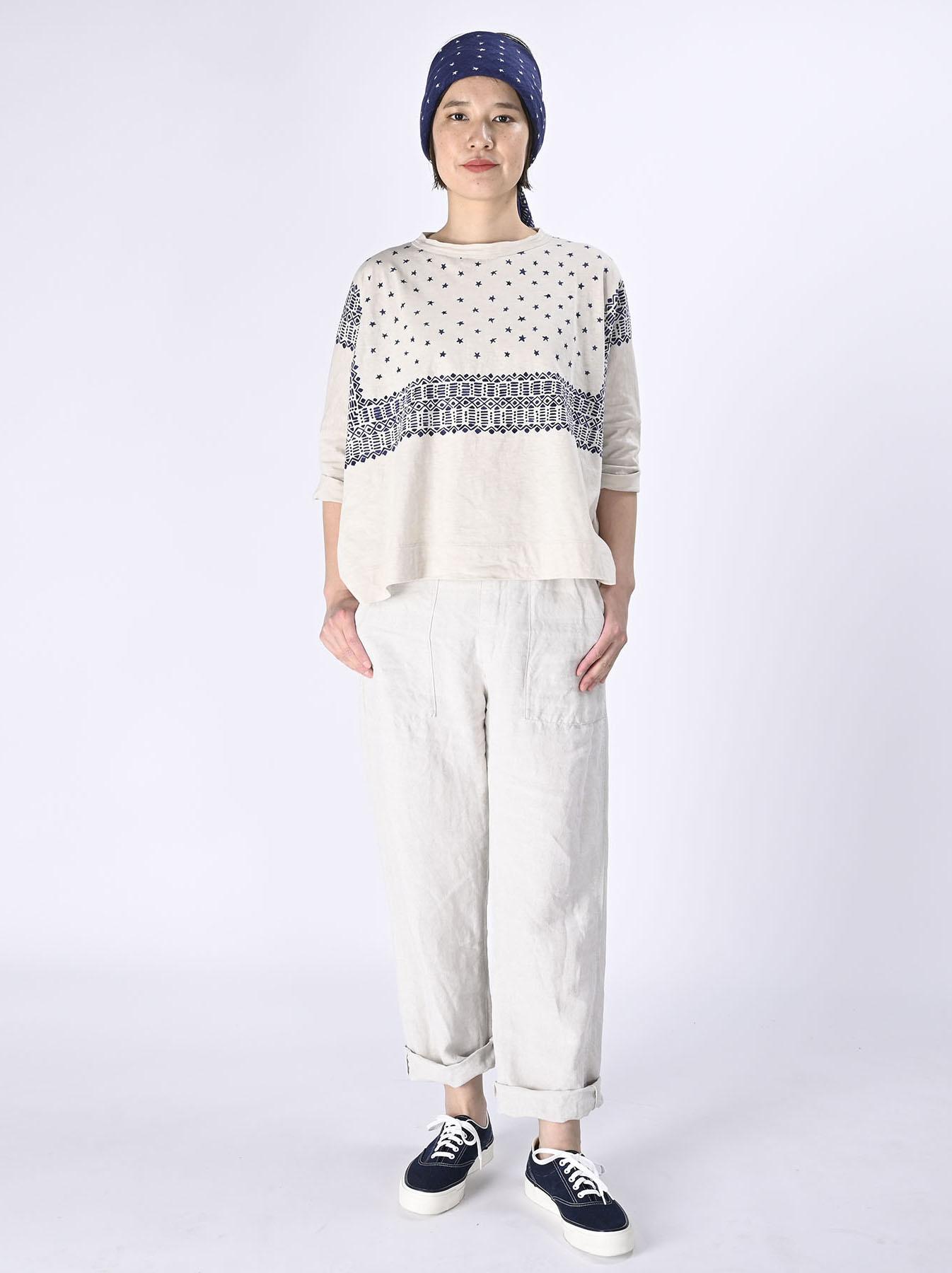 Tenjiku Bandana Big T-shirt (0421)-2