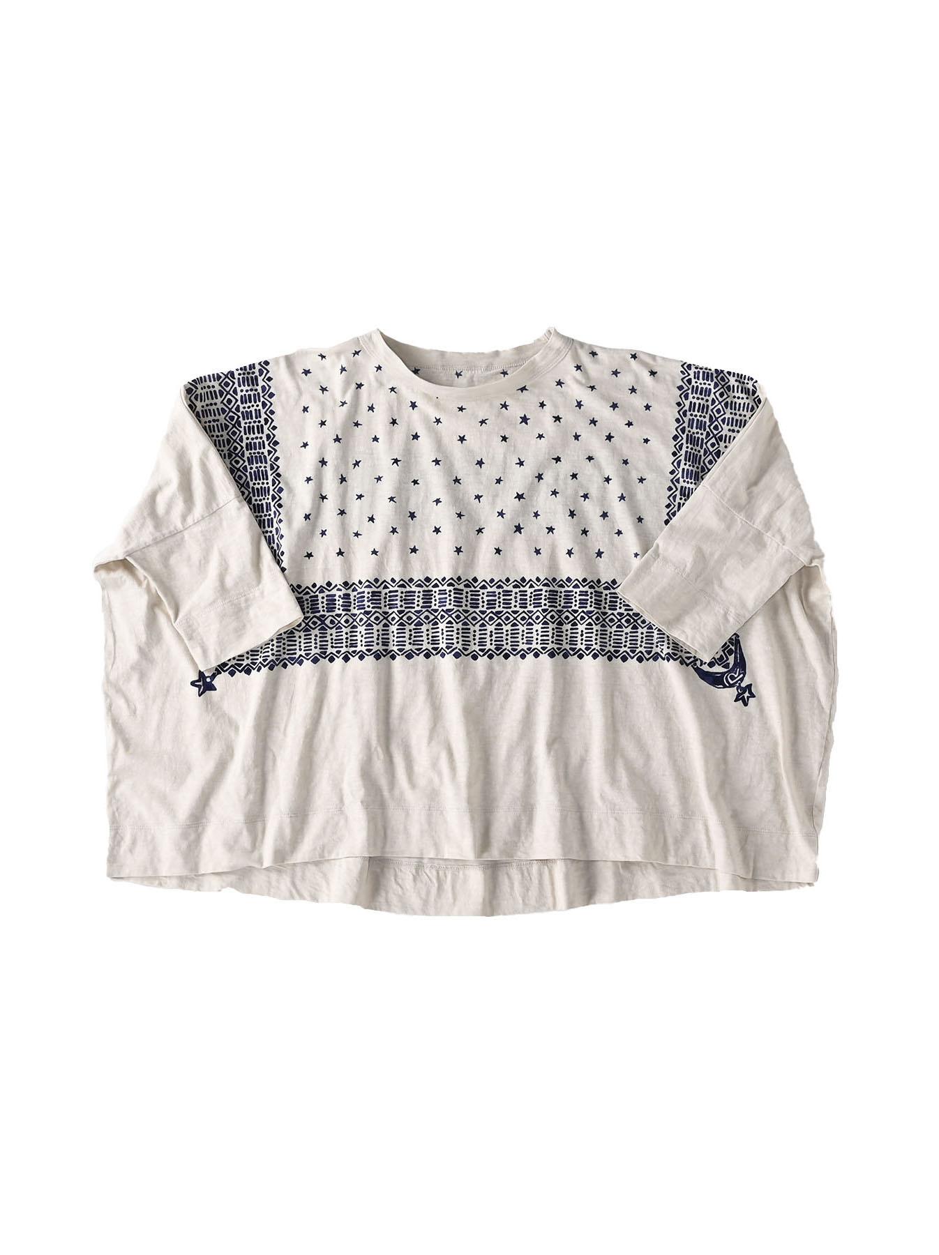 Tenjiku Bandana Big T-shirt (0421)-6