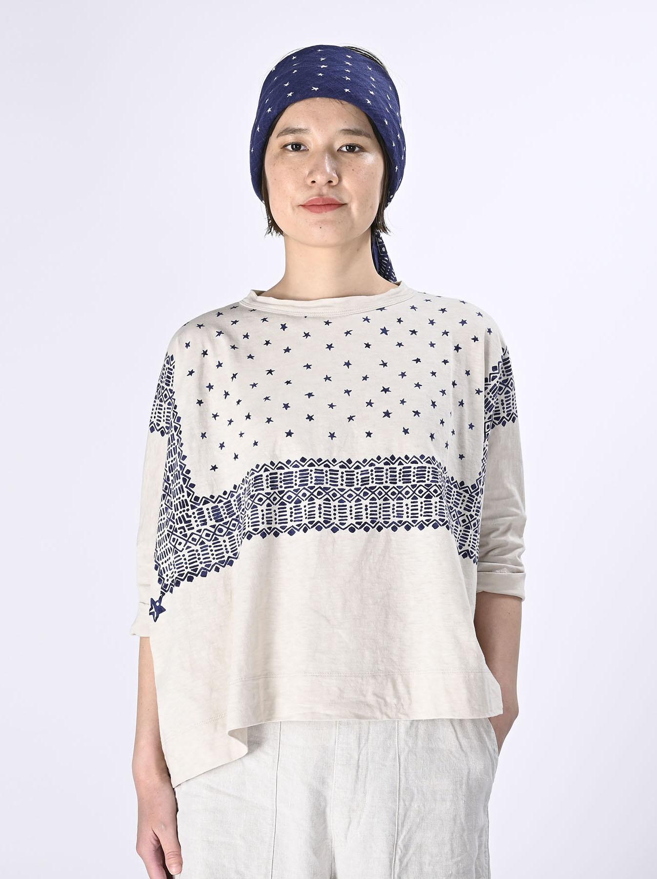 Tenjiku Bandana Big T-shirt (0421)-3