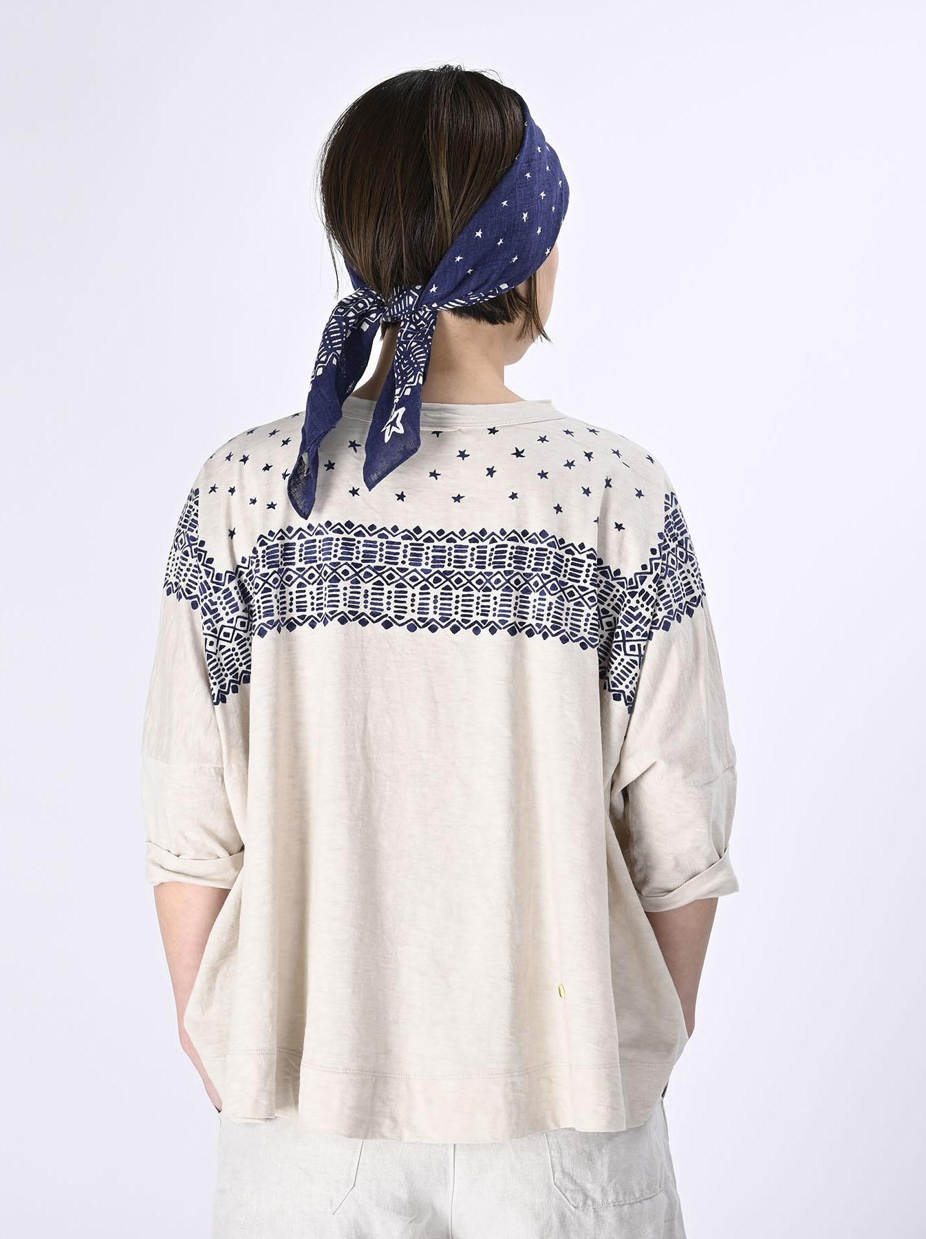 Tenjiku Bandana Big T-shirt (0421)-5
