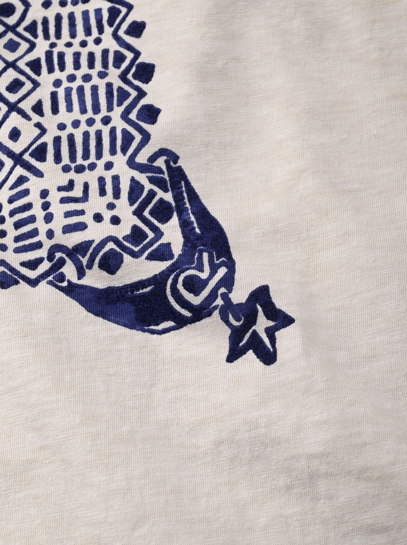 Tenjiku Bandana Big T-shirt (0421)-11