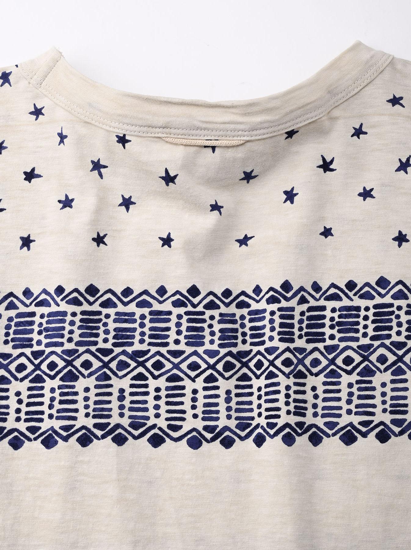 Tenjiku Bandana Big T-shirt (0421)-9