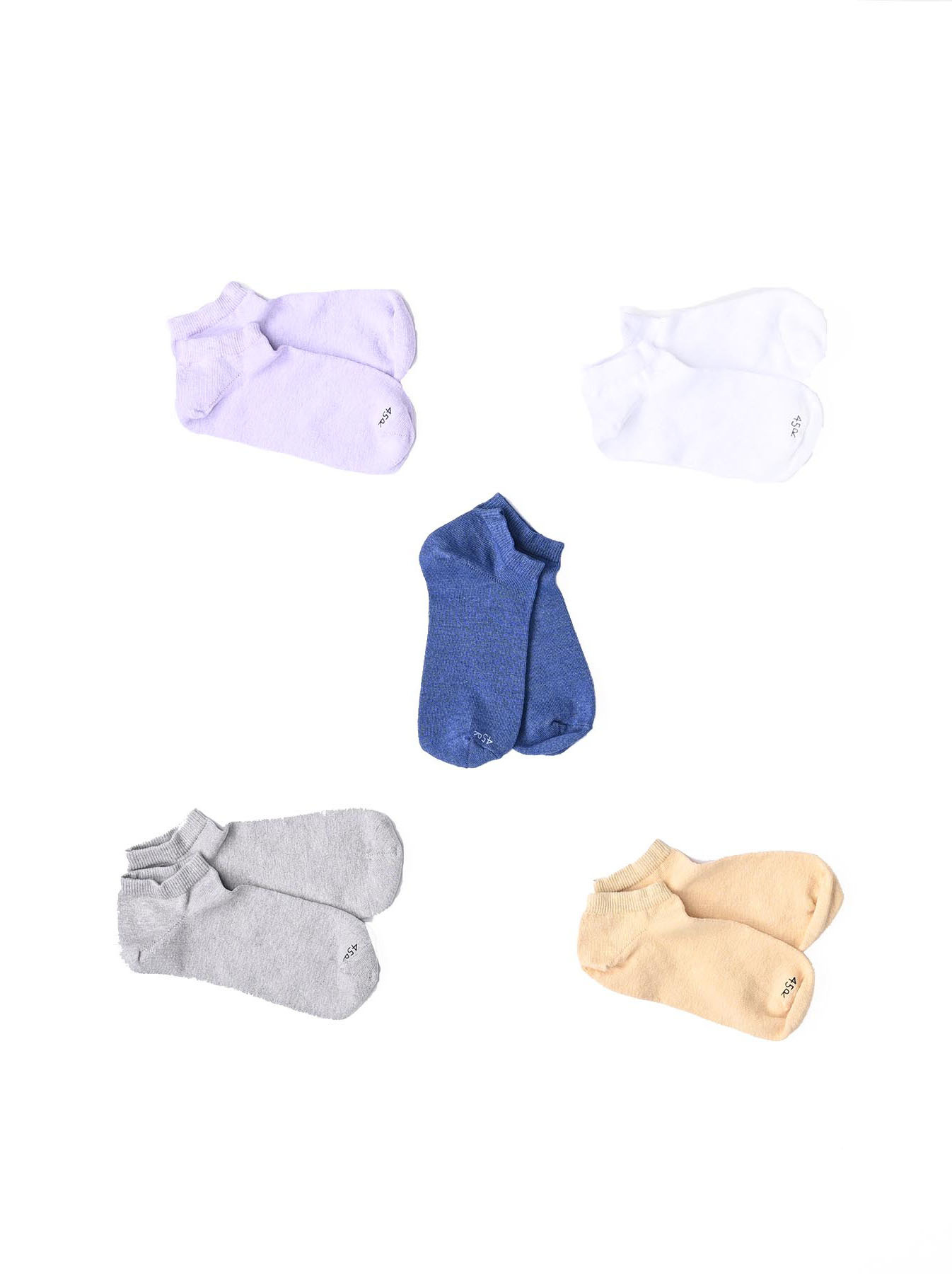 45 Star Ankle Socks (0421)-2
