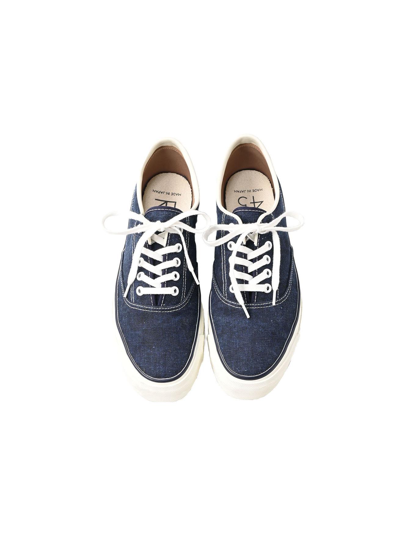 Indigo Linen Duck Sneaker size 5.5-7.5 UK-1