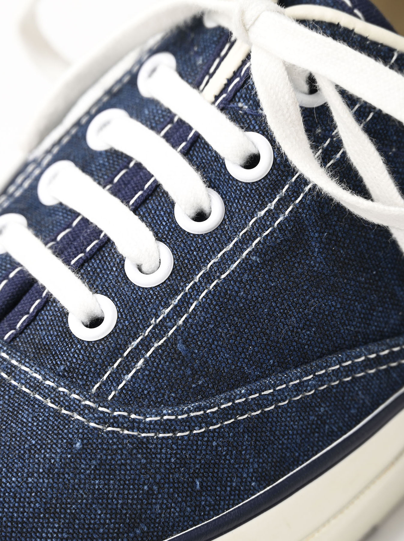Indigo Linen Duck Sneaker size 5.5-7.5 UK-5