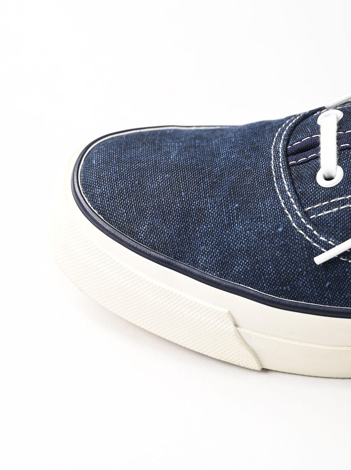 Indigo Linen Duck Sneaker size 5.5-7.5 UK-6