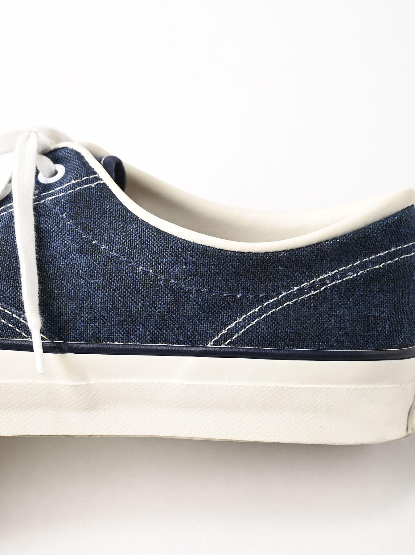 Indigo Linen Duck Sneaker size 5.5-7.5 UK-7