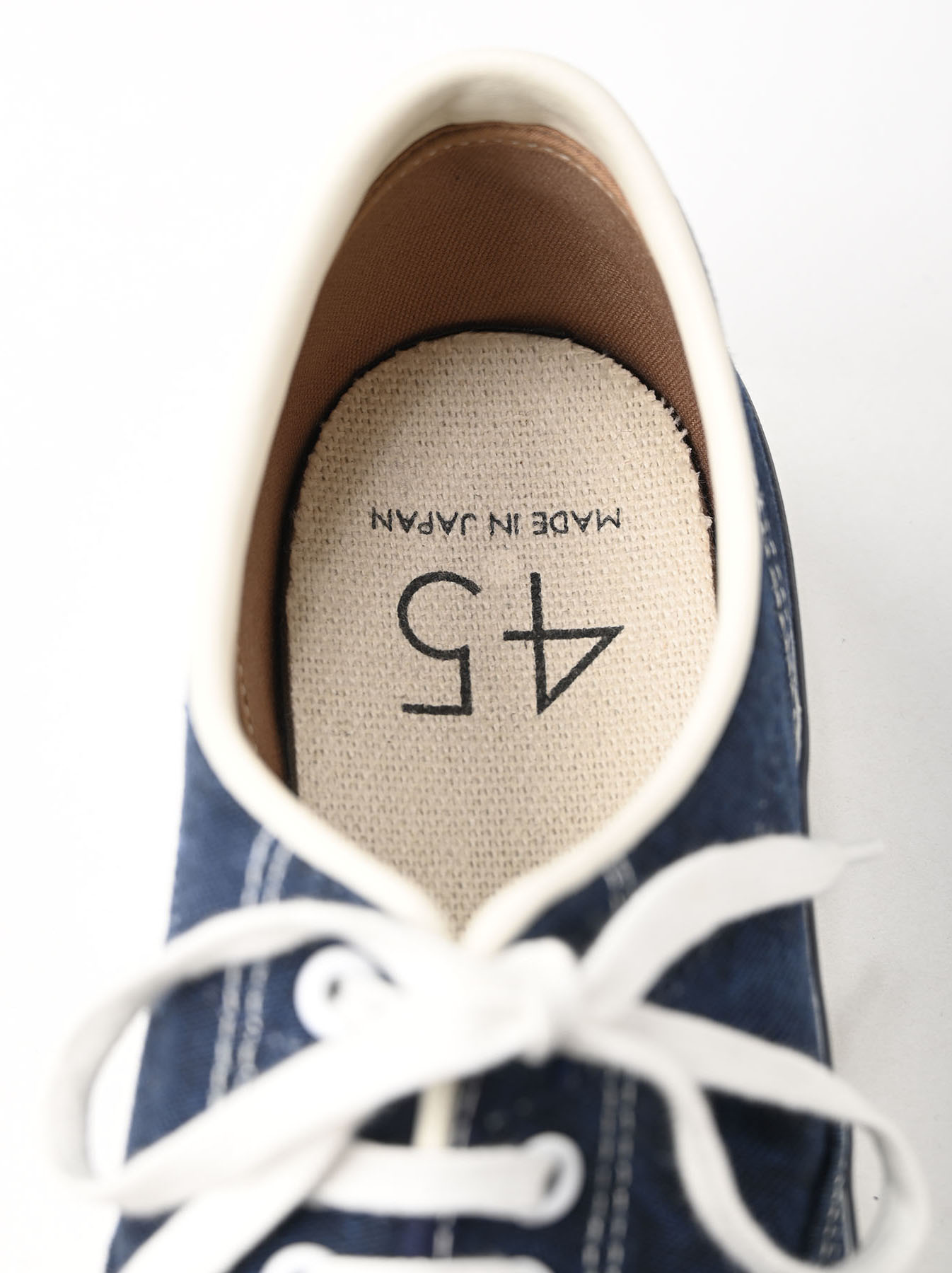 Indigo Linen Duck Sneaker size 5.5-7.5 UK-8