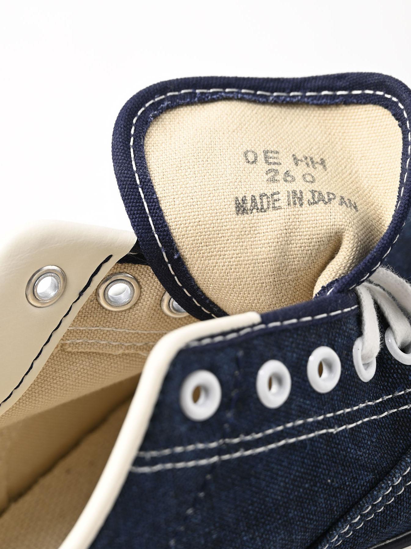 Indigo Linen Duck Sneaker size 5.5-7.5 UK-9