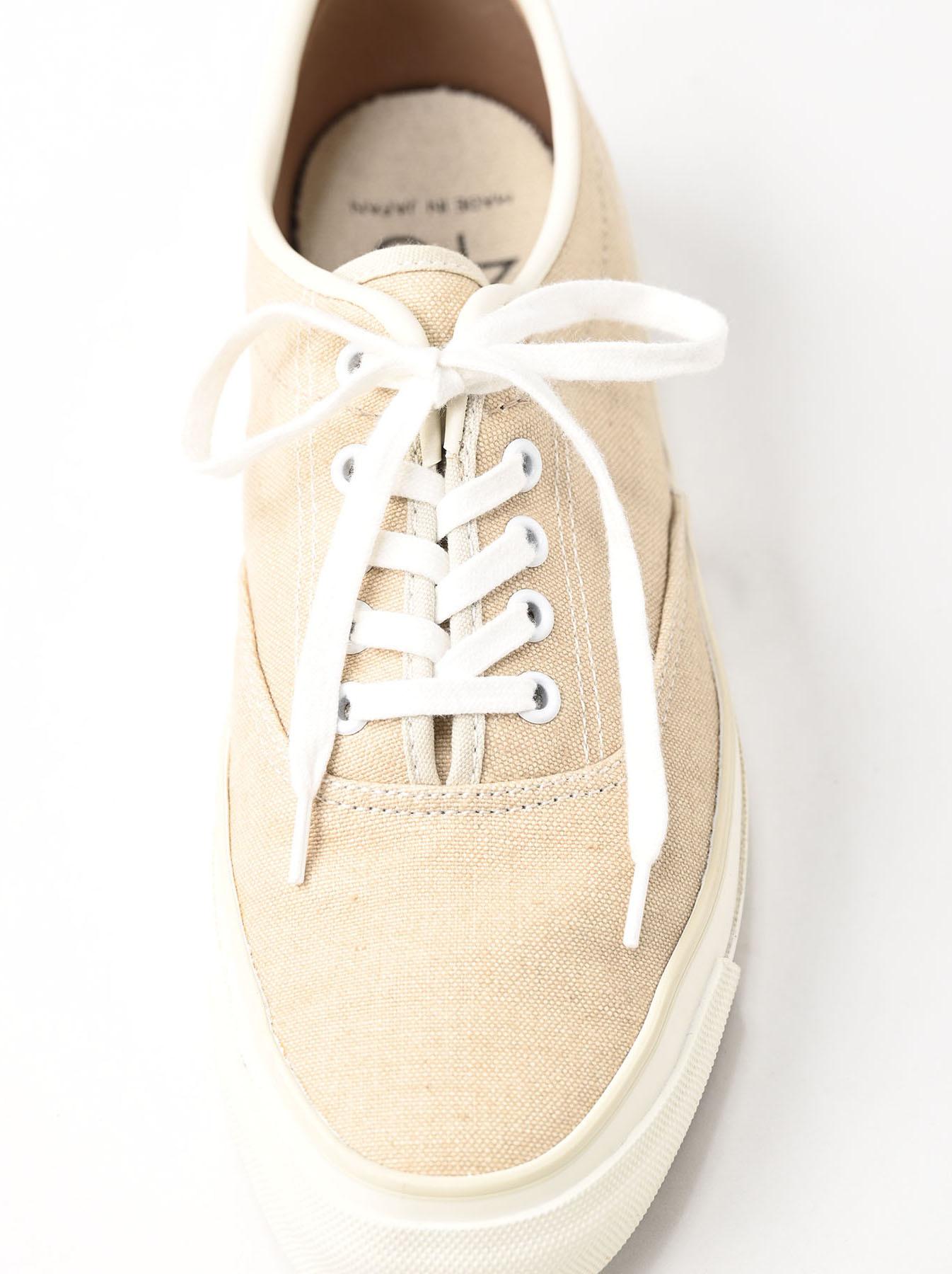 Linen Duck Sneaker Beige (0421)-3