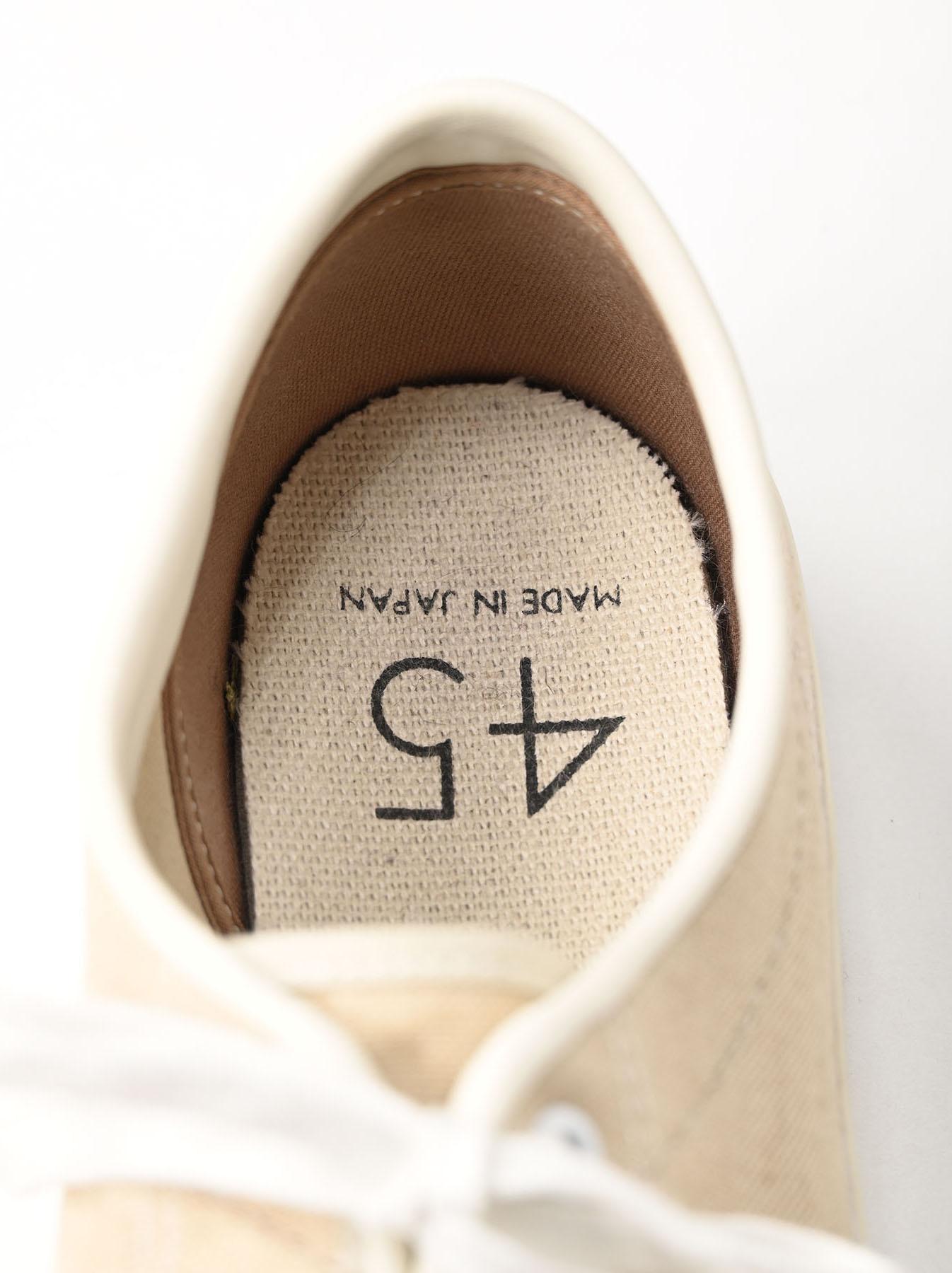 Linen Duck Sneaker Beige (0421)-8