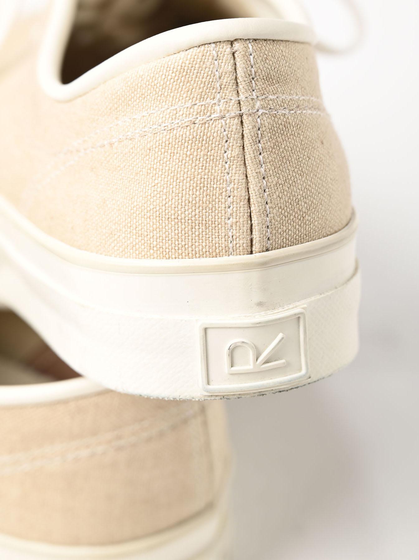 Linen Duck Sneaker Beige (0421)-10