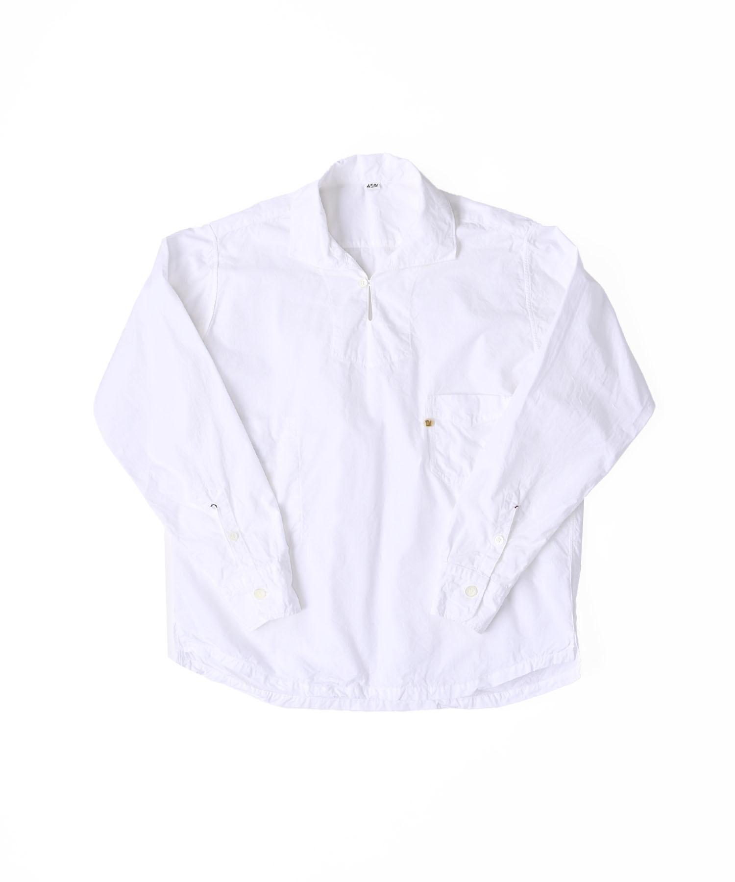 Damp Yarn Dyed 908 Ocean Pullover Shirt (0421)-8