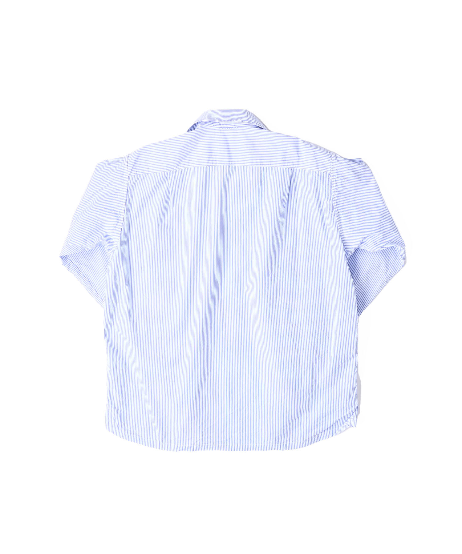 Damp Yarn Dyed 908 Ocean Pullover Shirt (0421)-7
