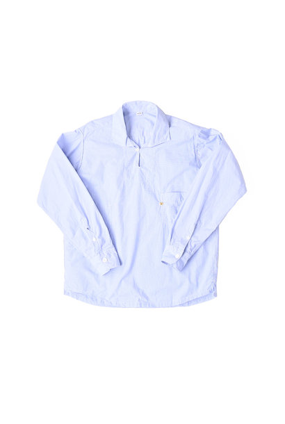 Damp Yarn Dyed 908 Ocean Pullover Shirt (0421)