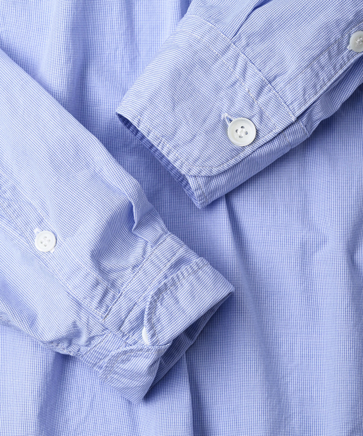 Damp Yarn Dyed 908 Ocean Pullover Shirt (0421)-12