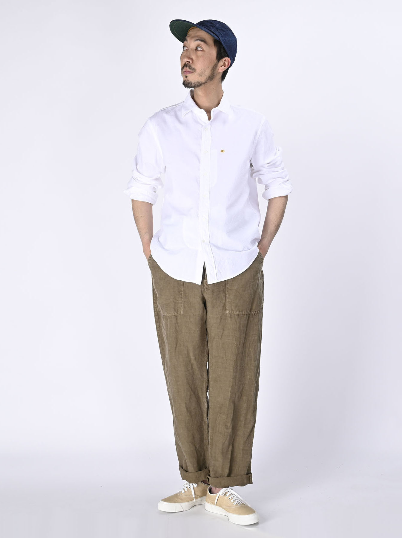 Double Woven 908 Loafer Shirt (0421)-2