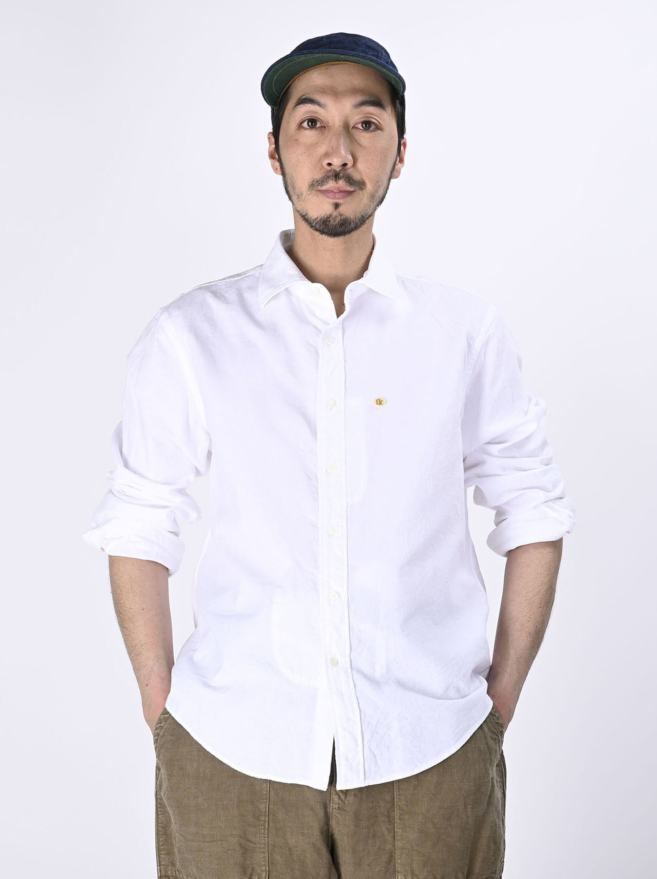 Double Woven 908 Loafer Shirt (0421)-3