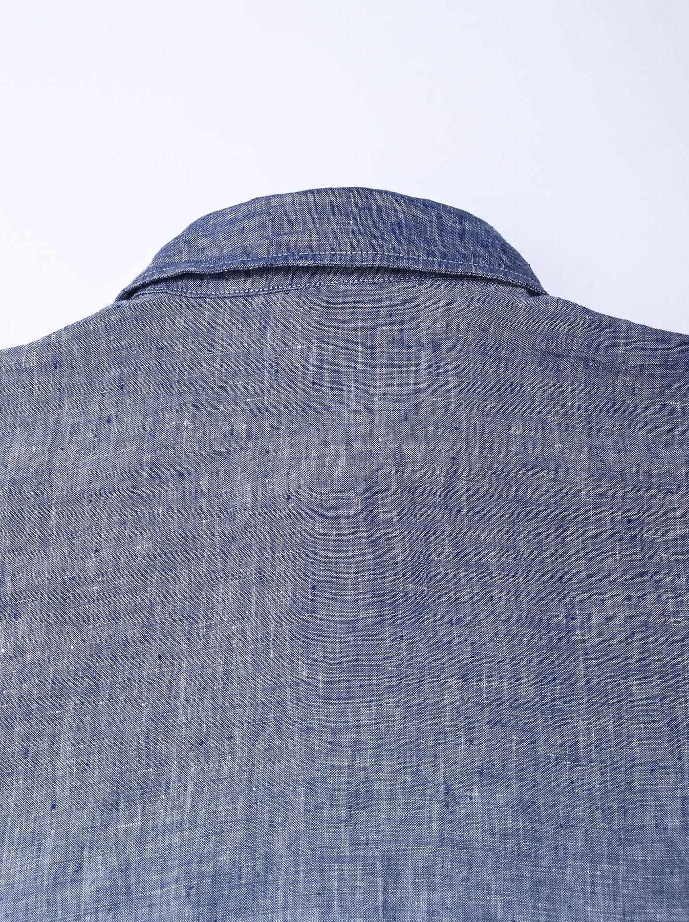 Indian Linen Big Dress (0421)-7