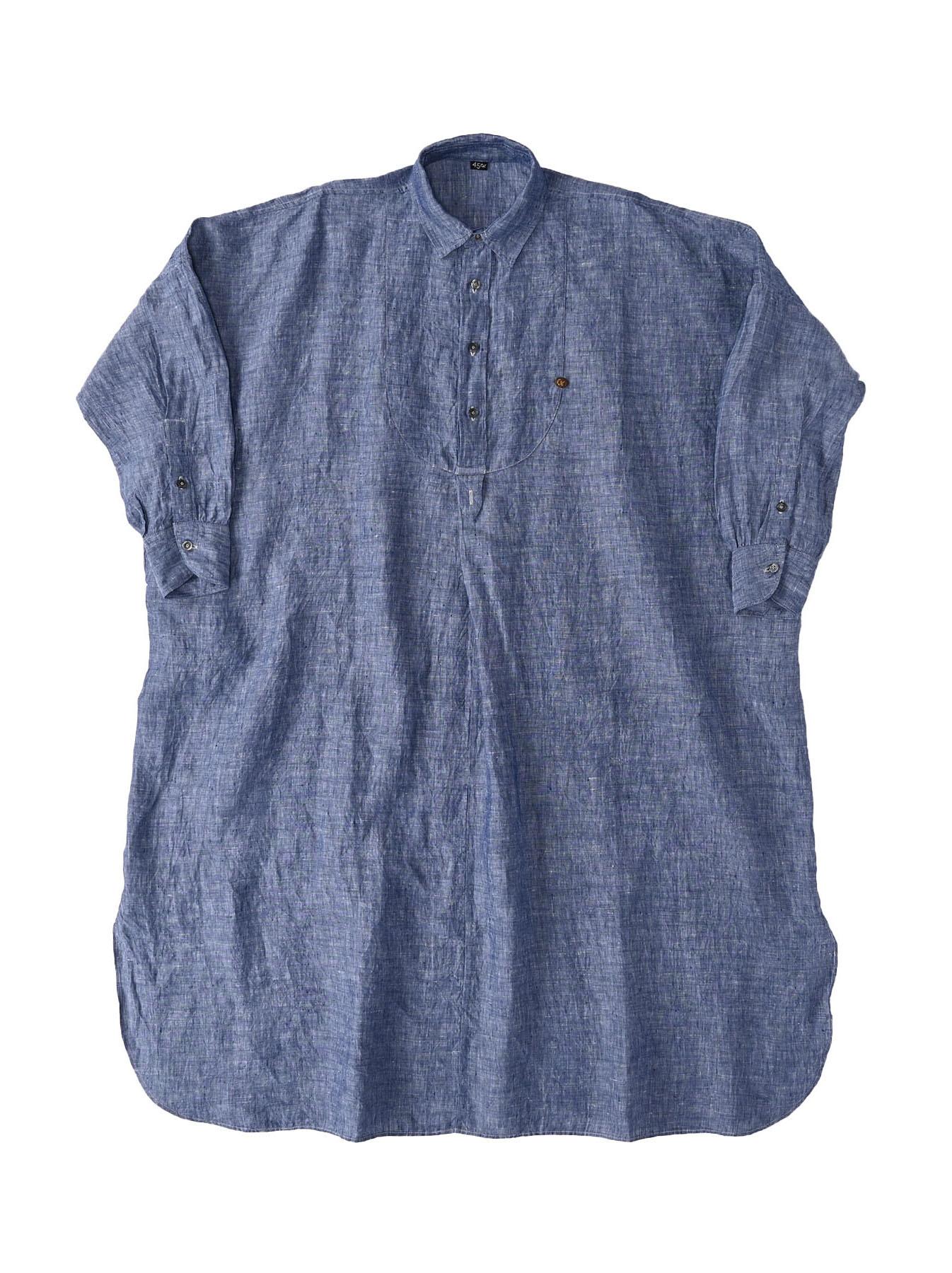 Indian Linen Big Dress (0421)-1