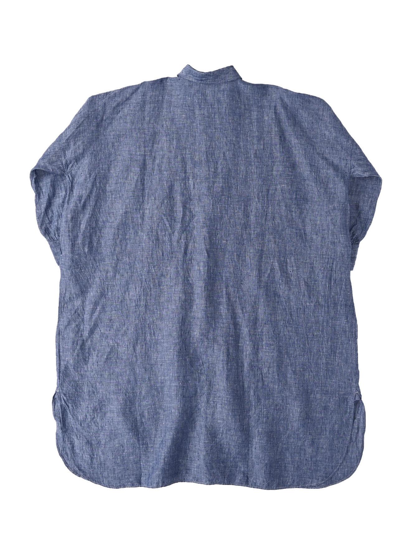 Indian Linen Big Dress (0421)-6