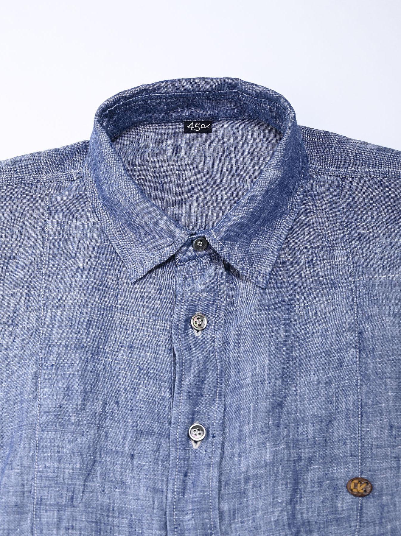 Indian Linen Big Dress (0421)-5