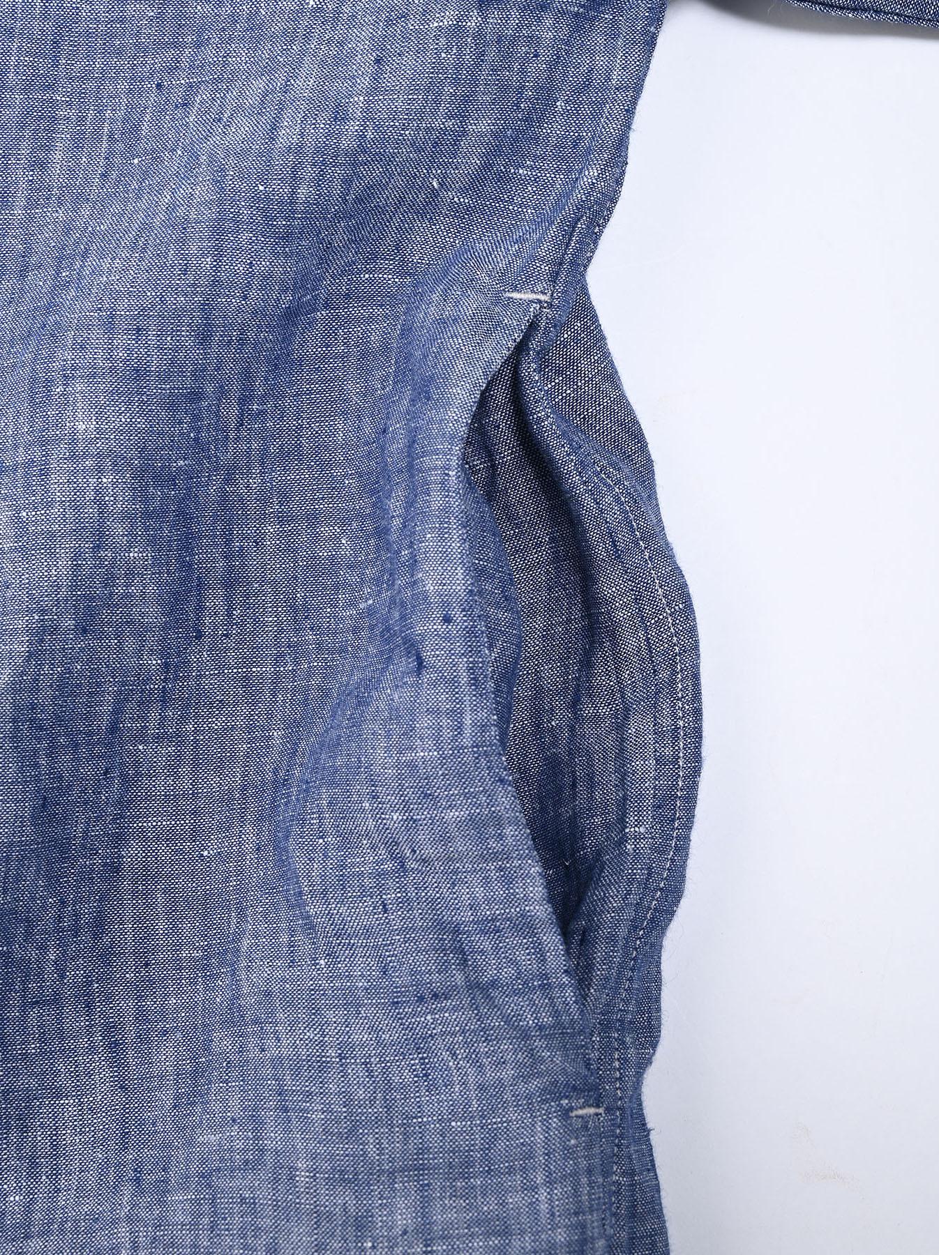 Indian Linen Big Dress (0421)-9