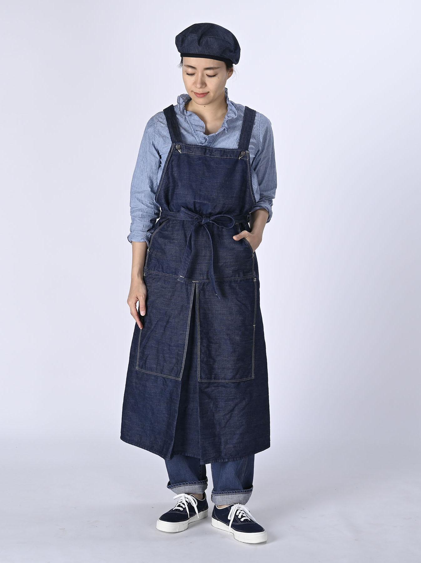 Monpu Apron Dress (0421)-2