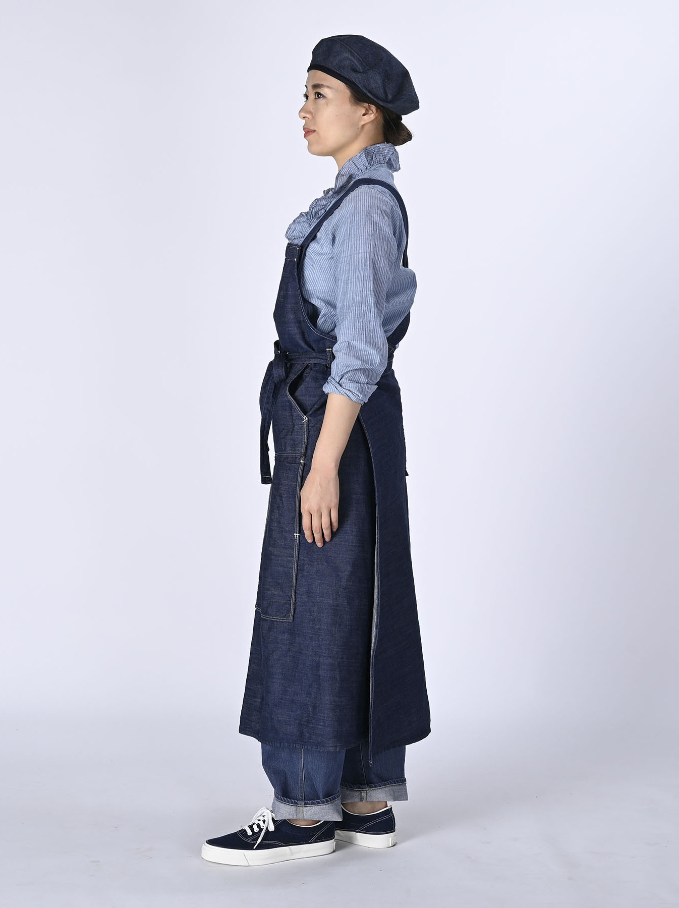 Monpu Apron Dress (0421)-3