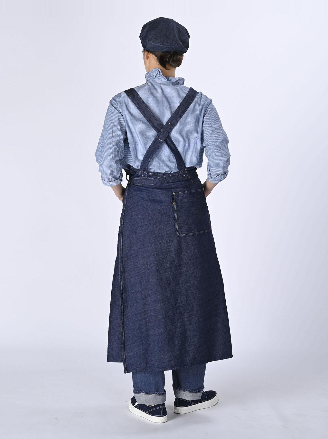 Monpu Apron Dress (0421)-4