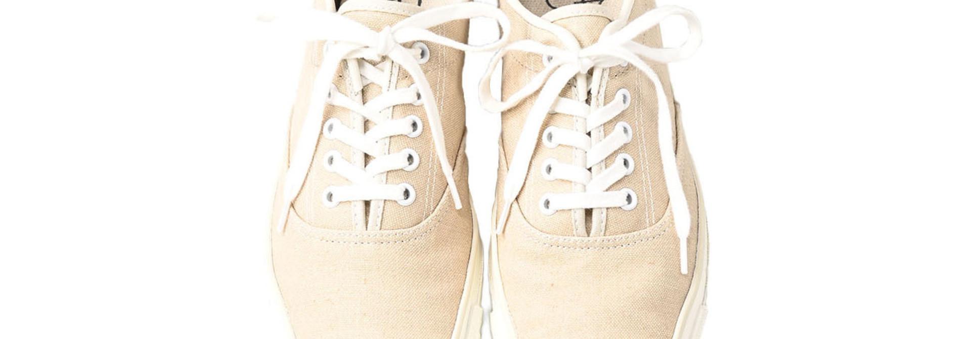 Linen Duck Sneaker Beige (0421)
