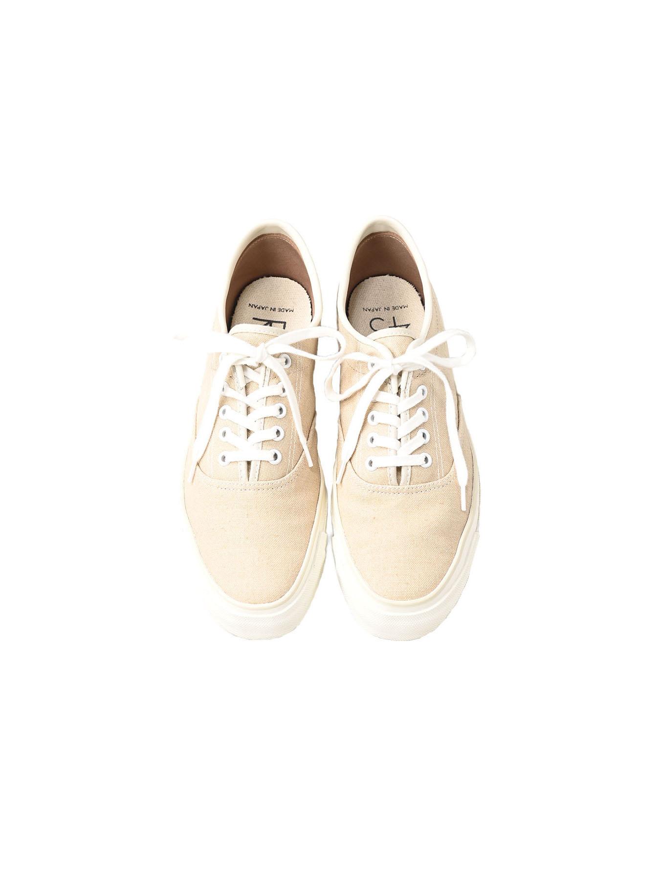 Linen Duck Sneaker Beige (0421)-1
