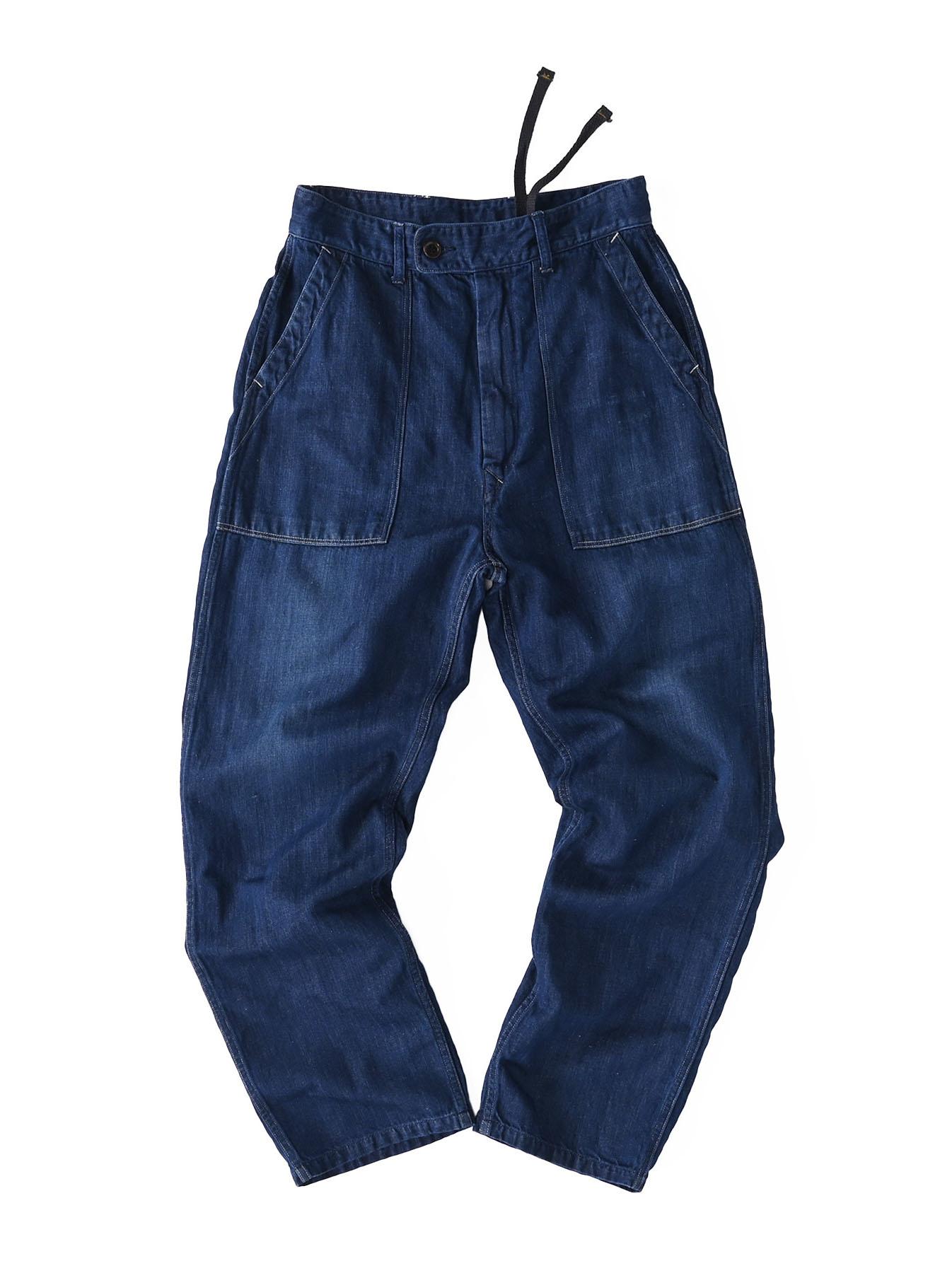 Komugi Cotton Denim 908 Baker Pants 2 (0521)-1