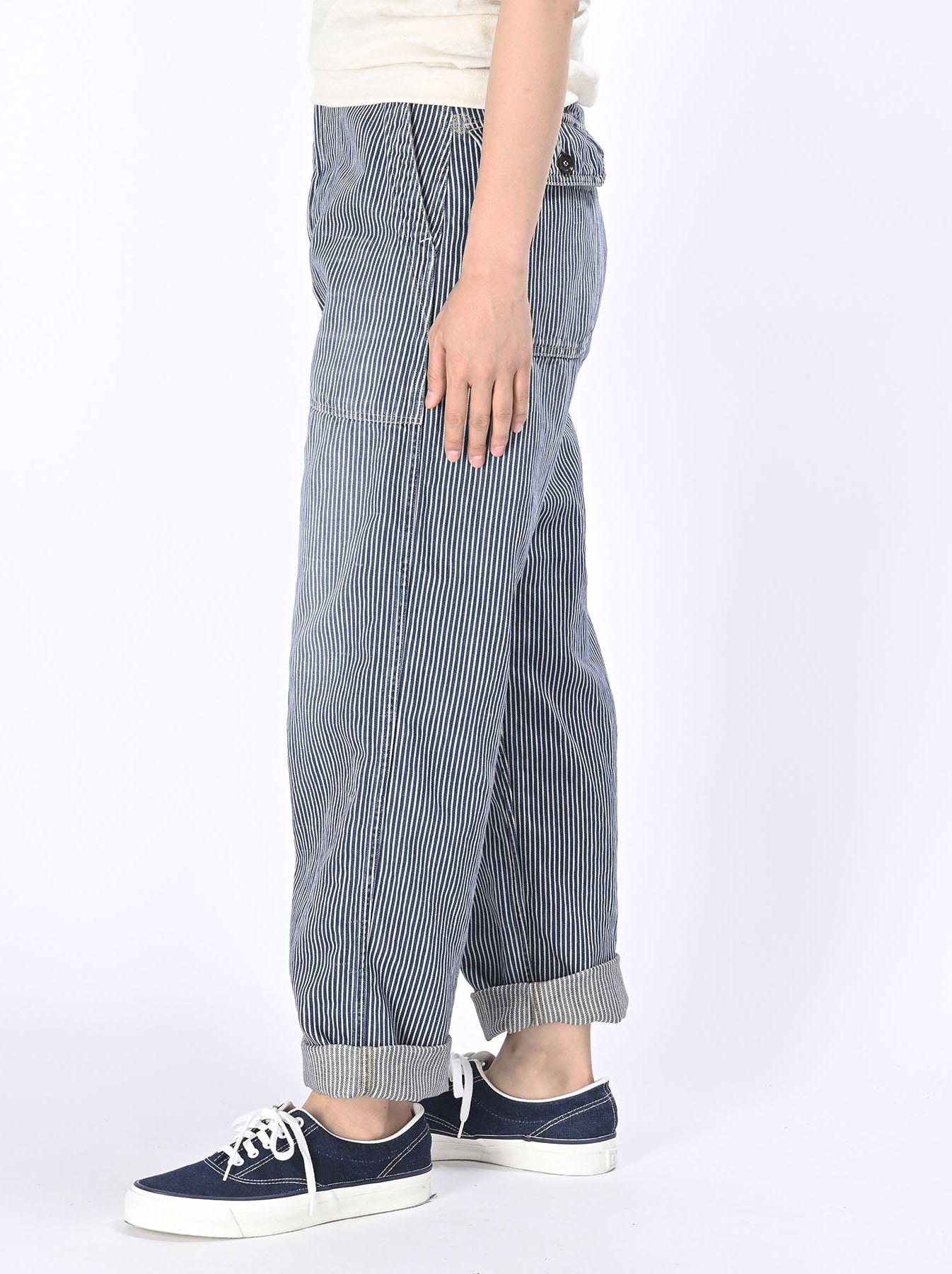 Komugi Cotton Denim 908 Baker Pants 2 (0521)-10