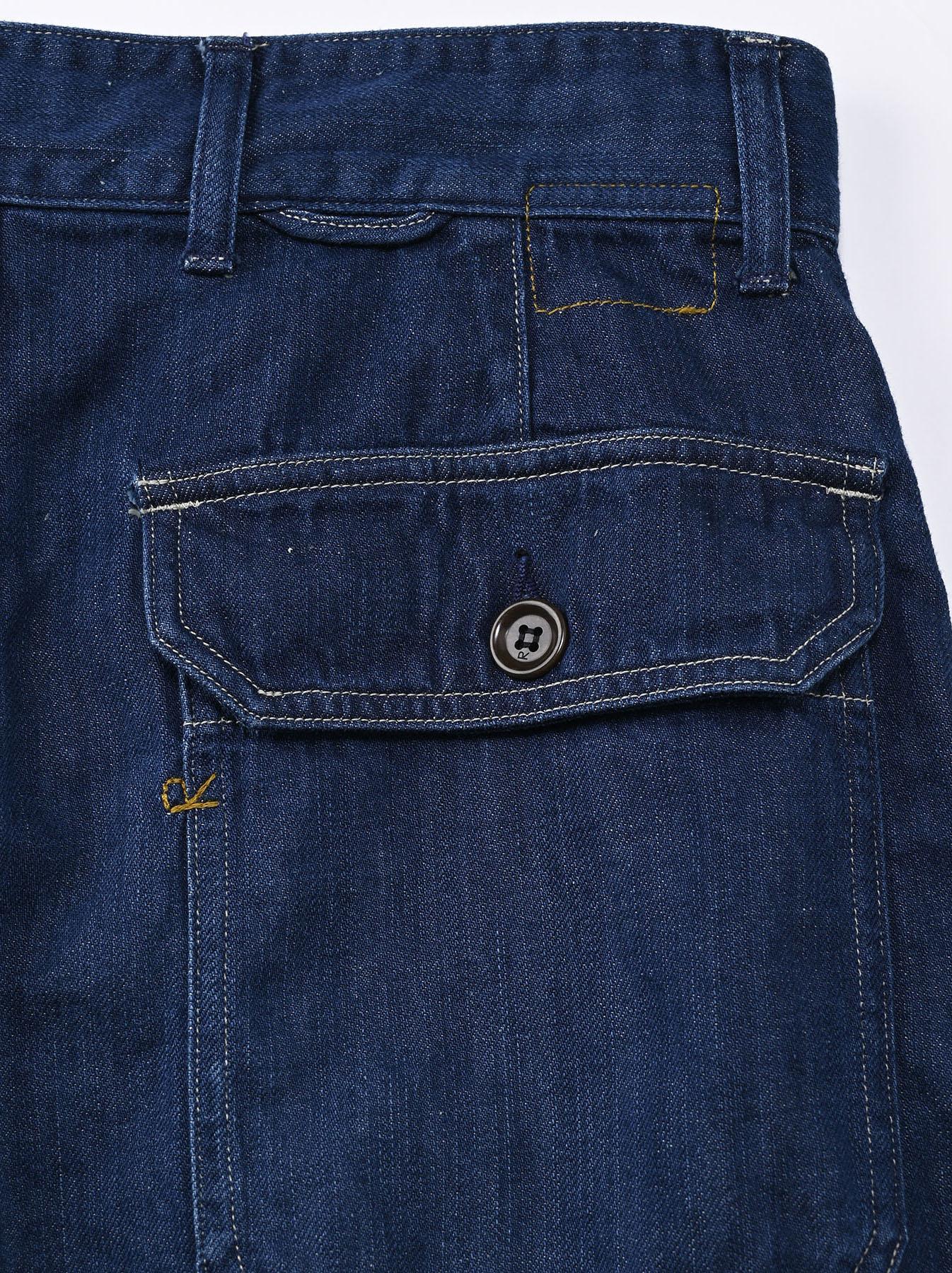 Komugi Cotton Denim 908 Baker Pants 2 (0521)-12