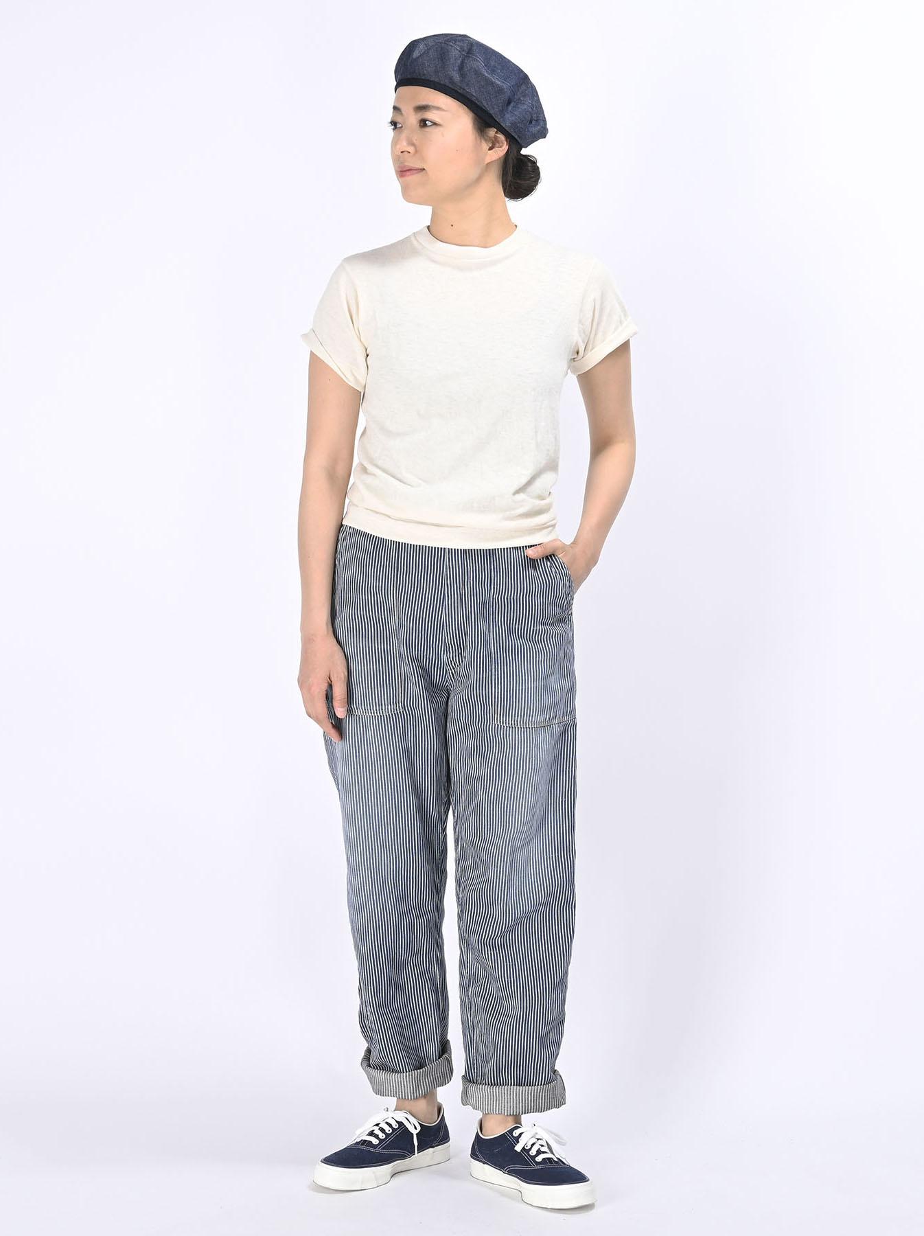 Komugi Cotton Denim 908 Baker Pants 2 (0521)-8